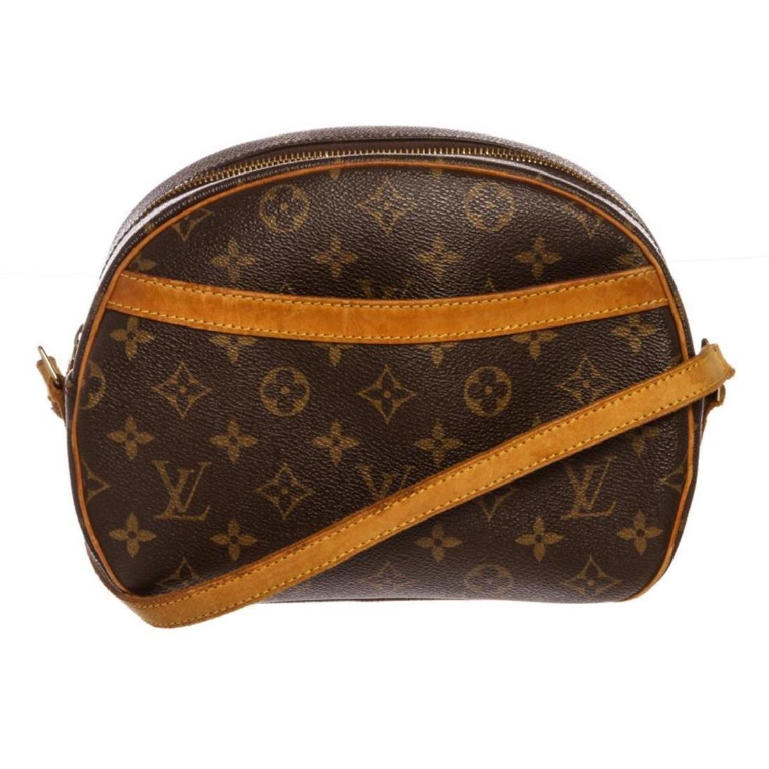 Louis Vuitton Monogram Canvas Leather Blois Crossbody