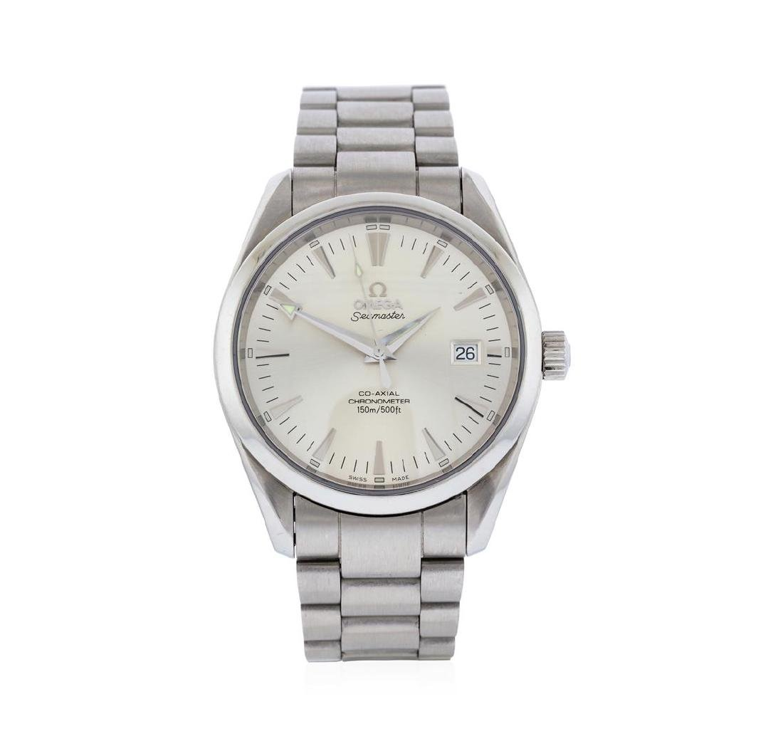 Omega Stainless Steel Seamaster Aqua Terra Watch