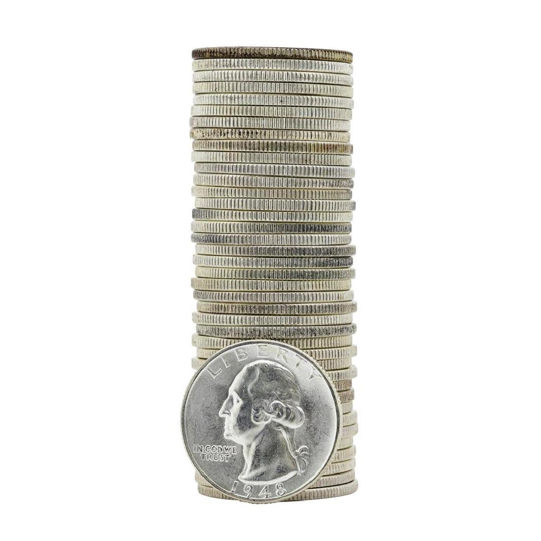 Roll of (40) 1948-D Brilliant Uncirculated Washington