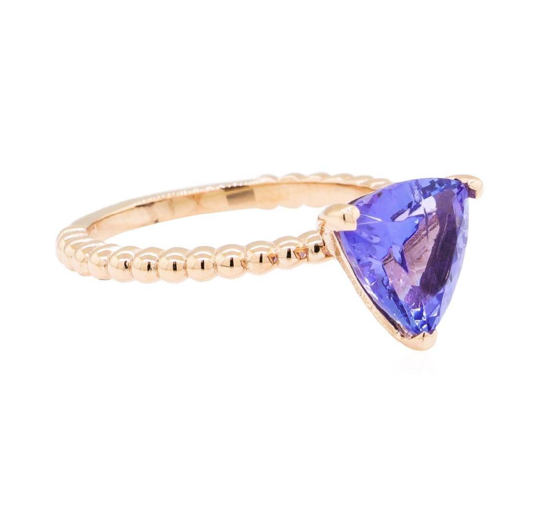 2.27 ctw Tanzanite Ring - 14KT Rose Gold