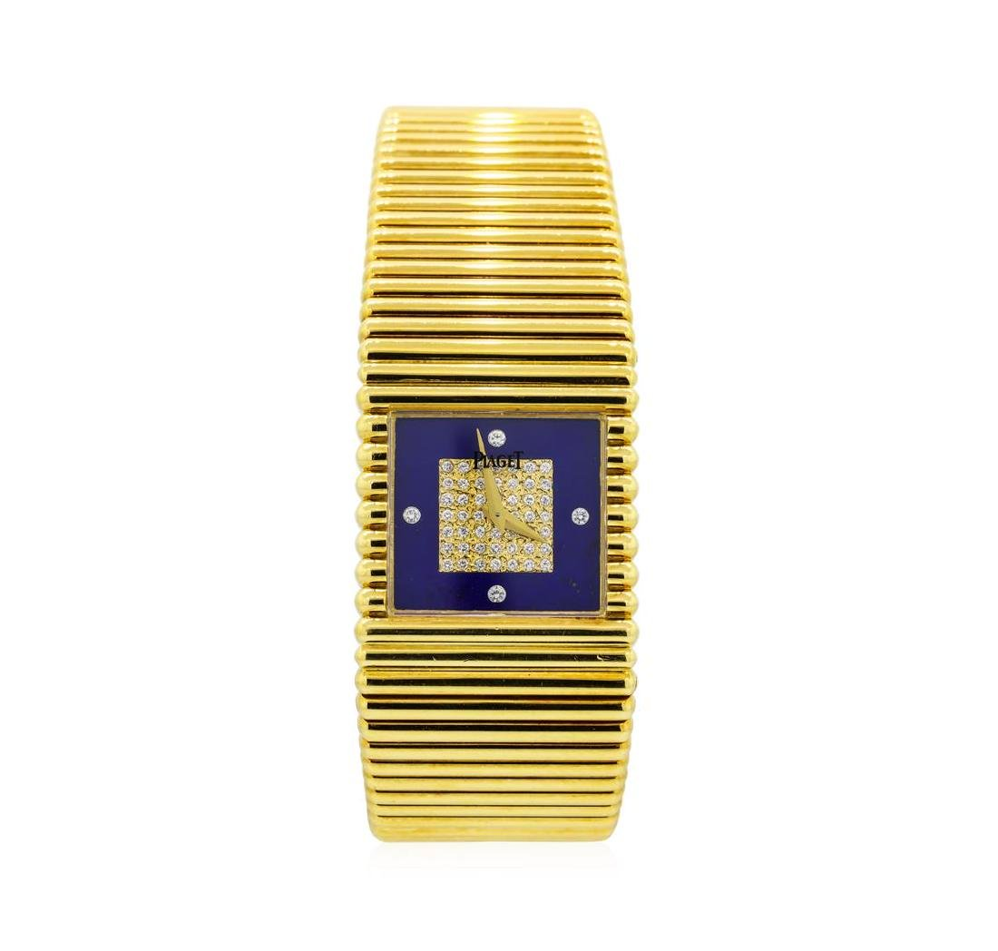 Piaget 18KT Yellow Gold  Emperador Watch