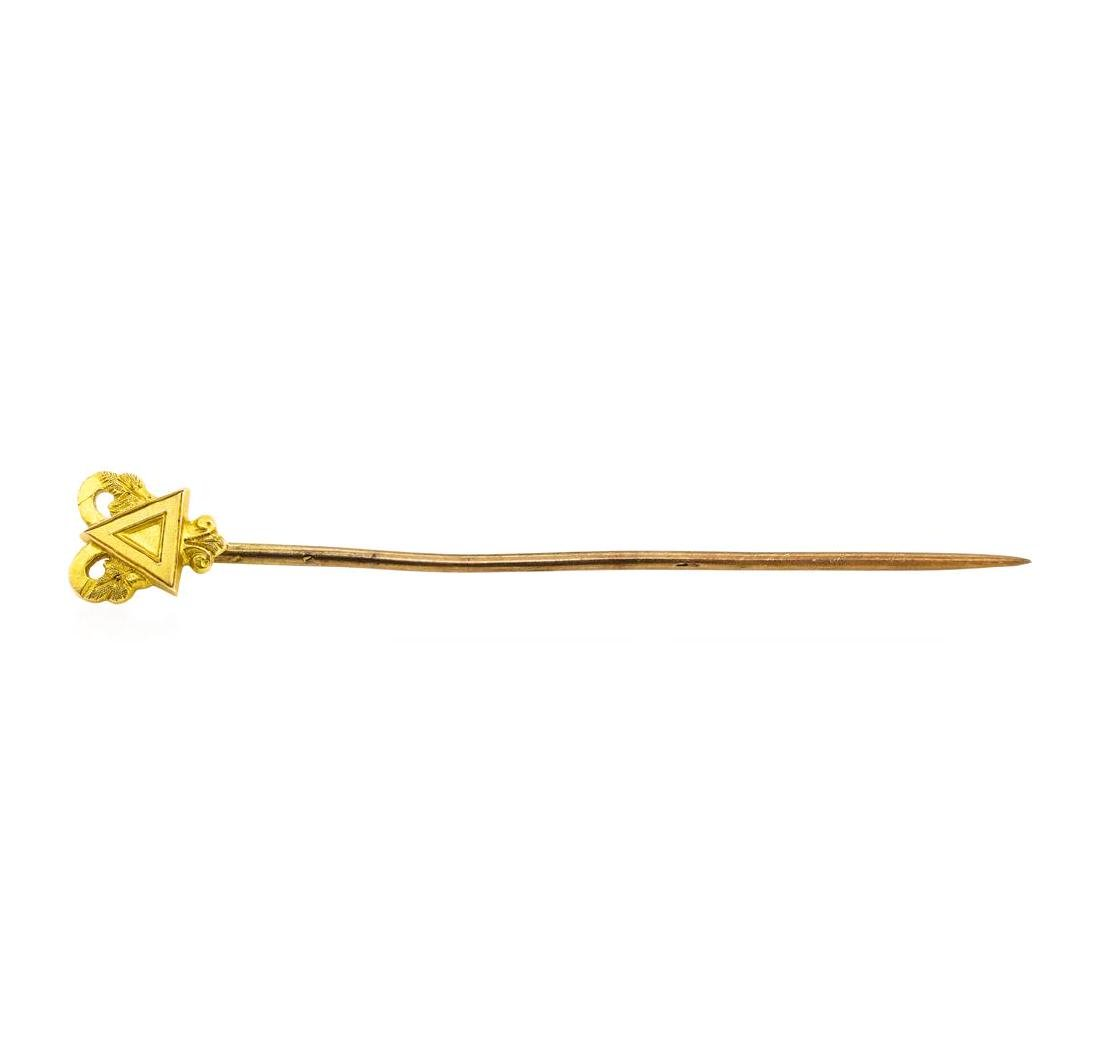 Stick Pin - 10KT Yellow Gold
