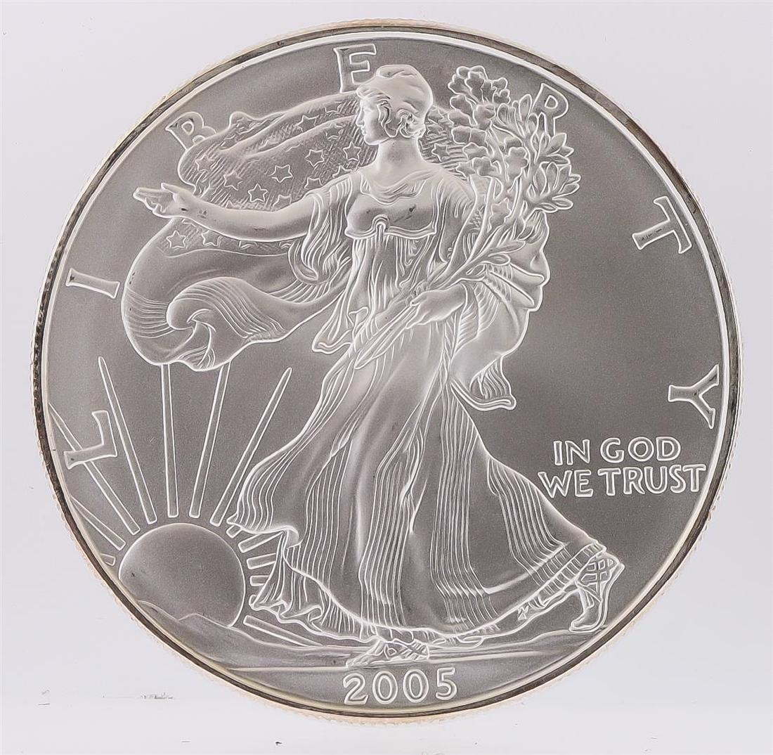 2005 American Silver Eagle Dollar Coin