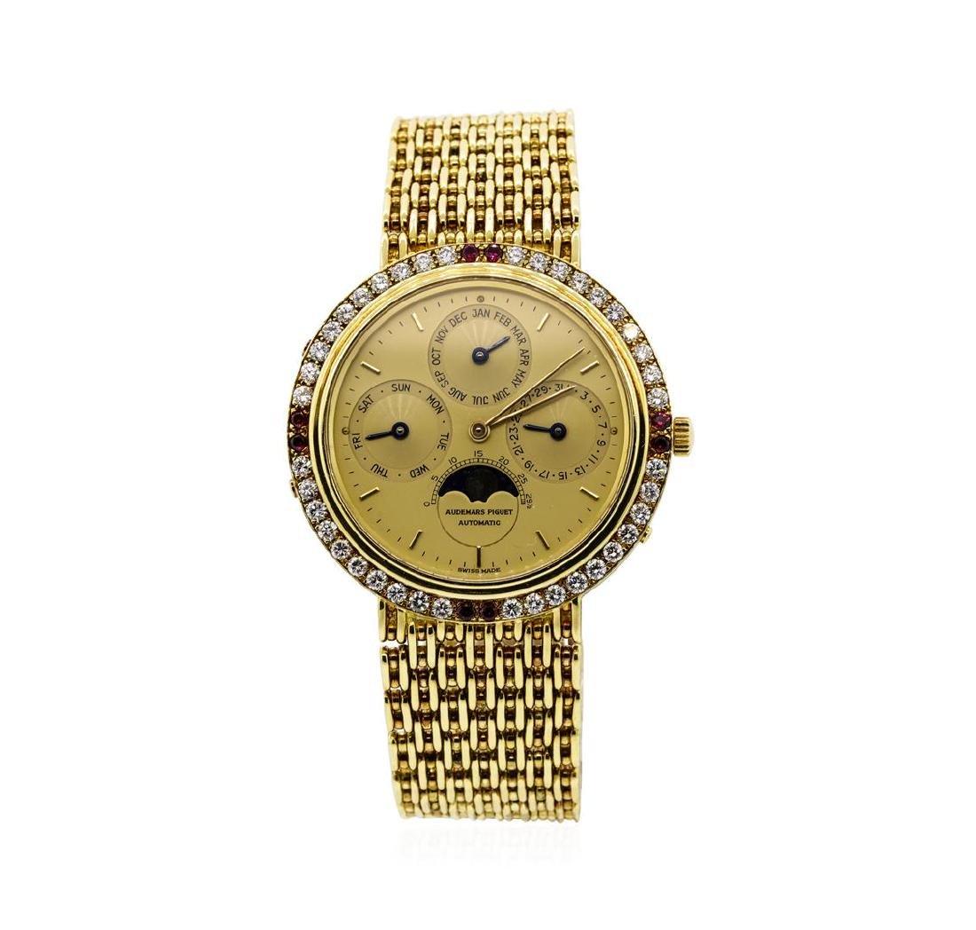 Audemars Piguet 18KT Yellow Gold Automatic Calendar