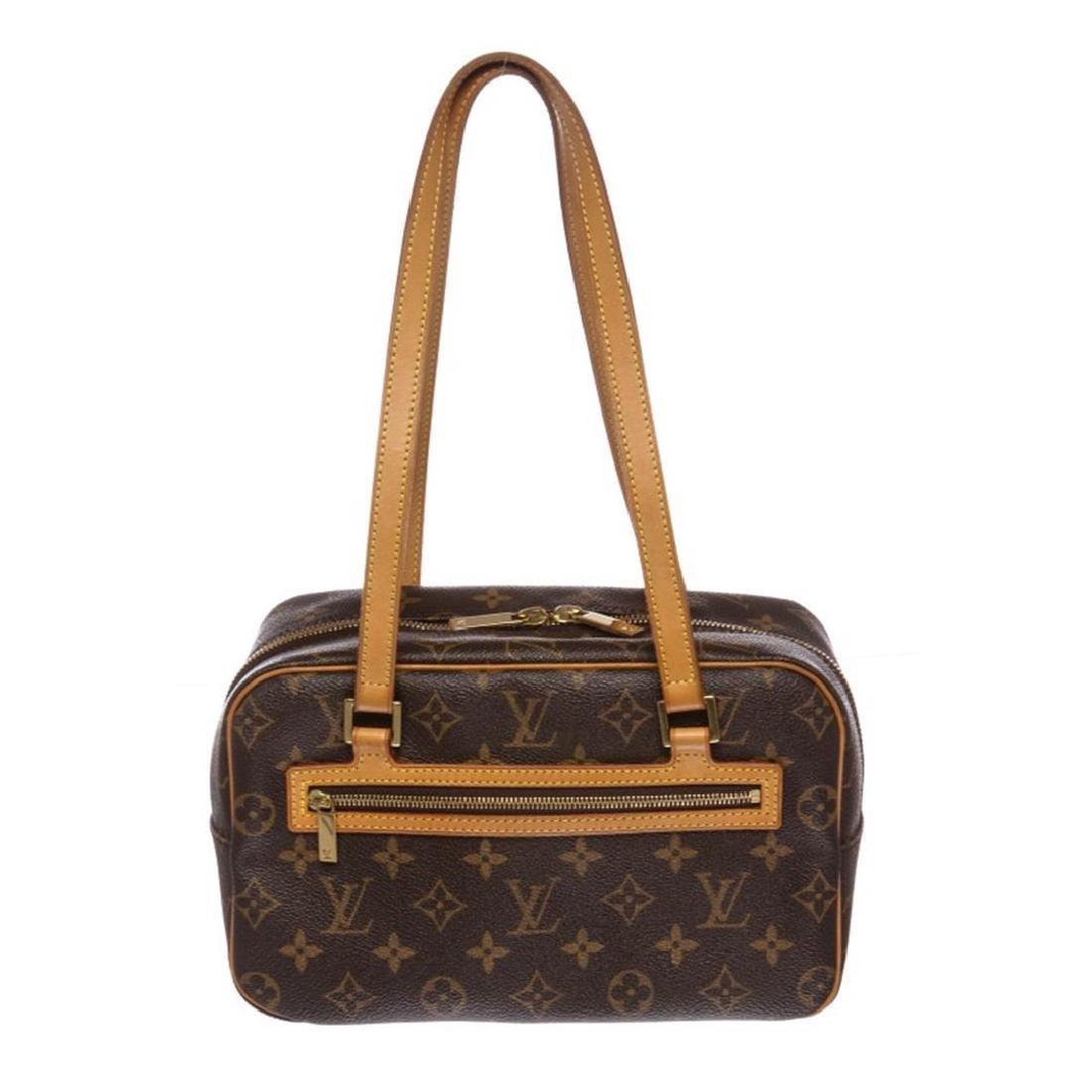 Louis Vuitton Monogram Canvas Leather Cite MM Shoulder