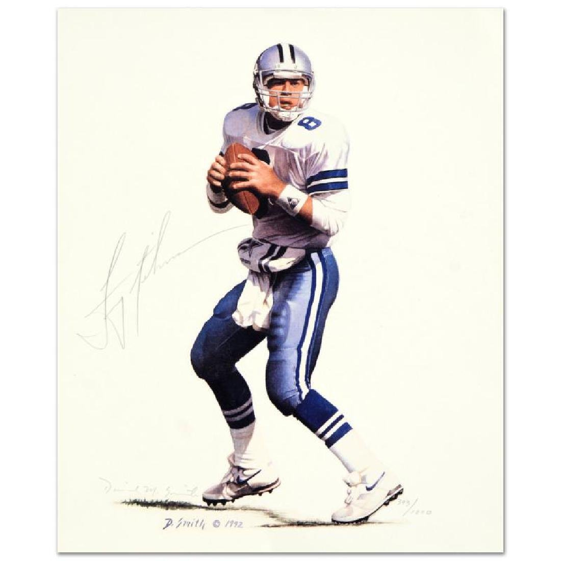 Troy Aikman (small) by Smith, Daniel M.