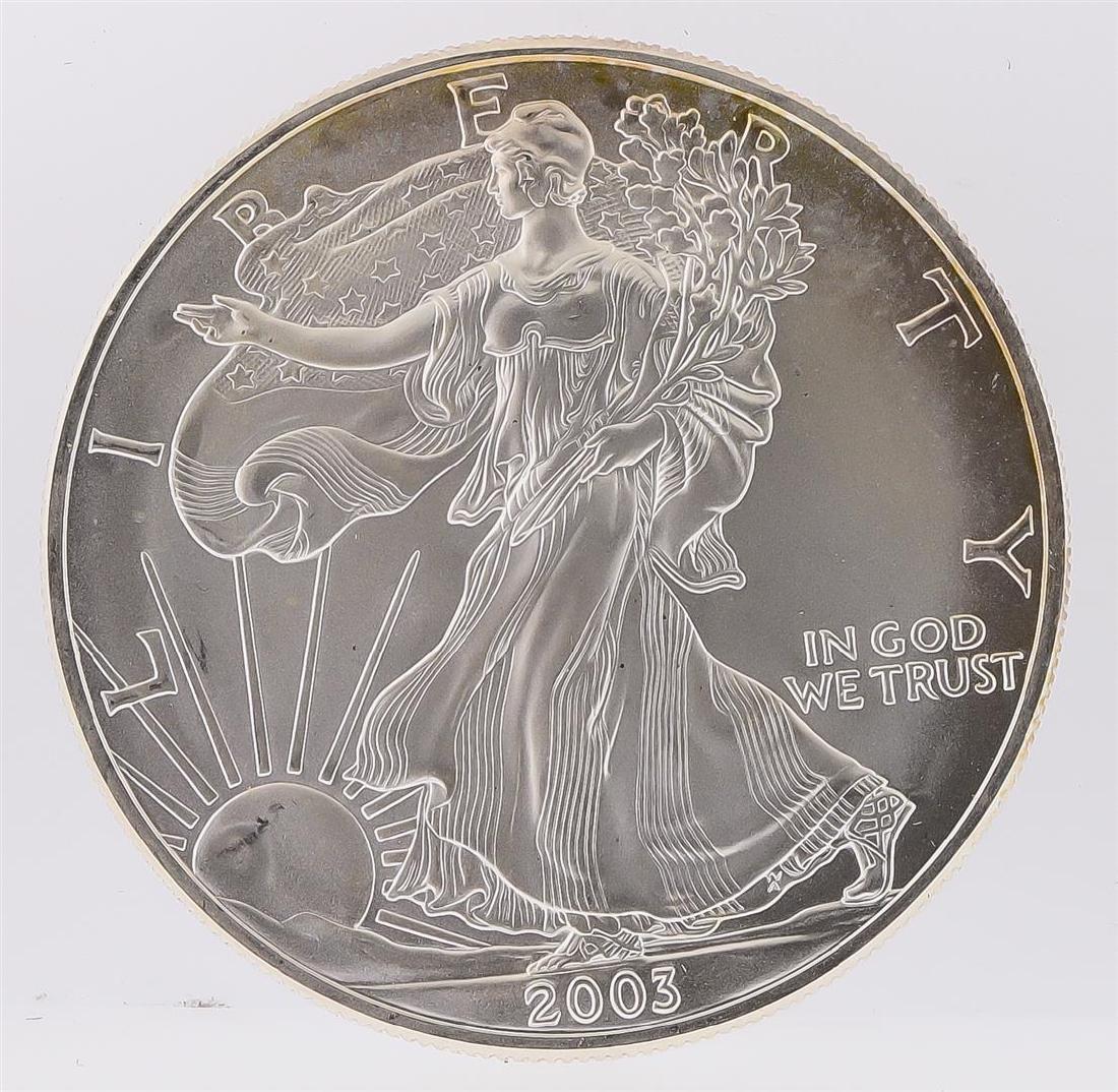 2003 American Silver Eagle Dollar Coin
