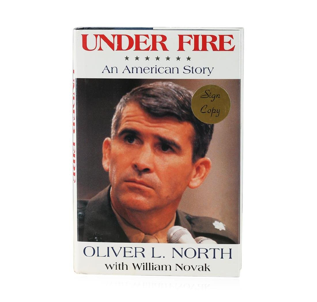 Signed Copy of Under Fire: An American Story by Oliver
