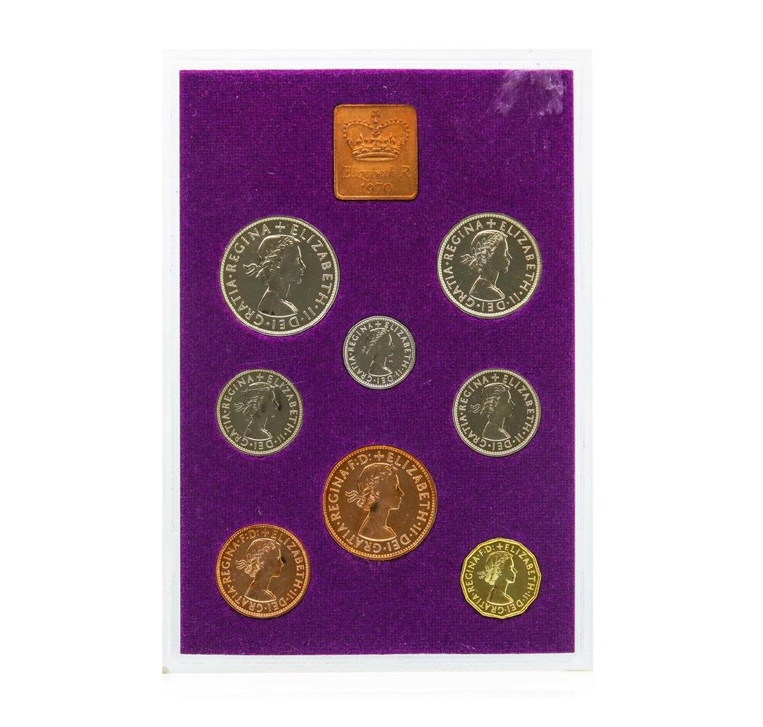 1970 Coinage of Great Britain and Northern Ireland - 2