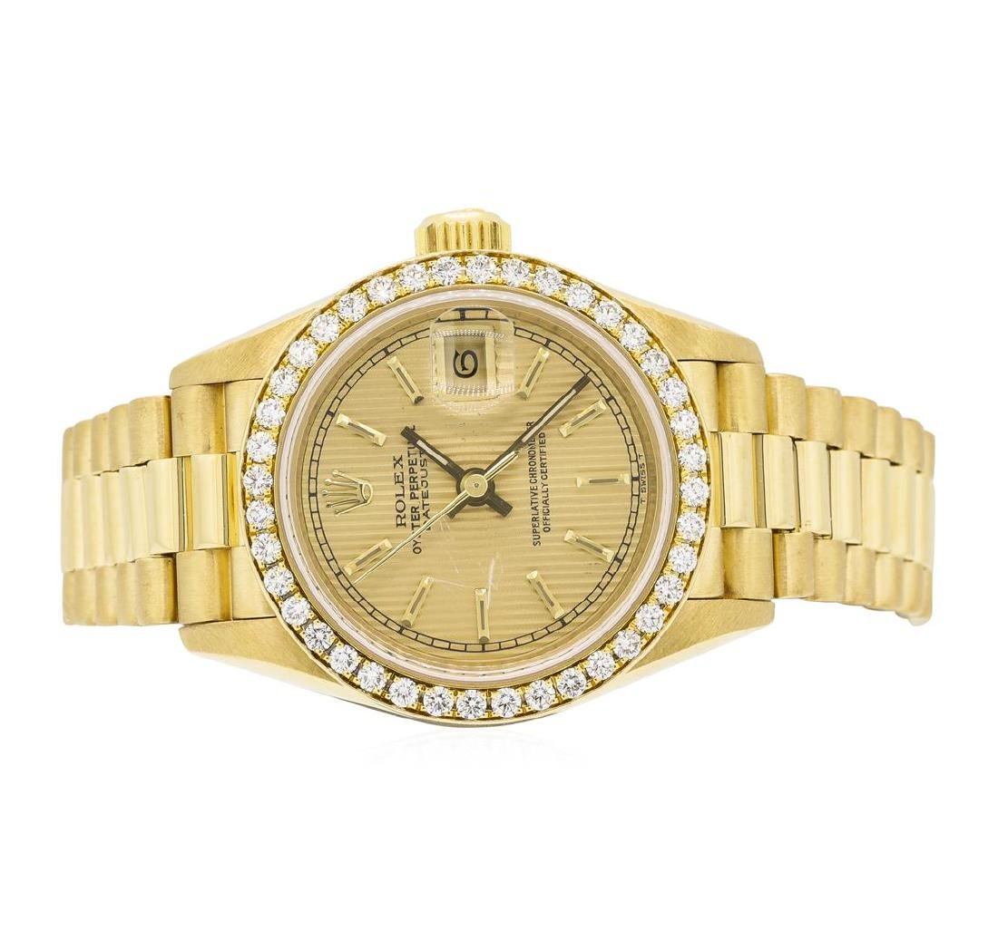 Rolex 18KT Yellow Gold Ladie's Oyster Perpetual