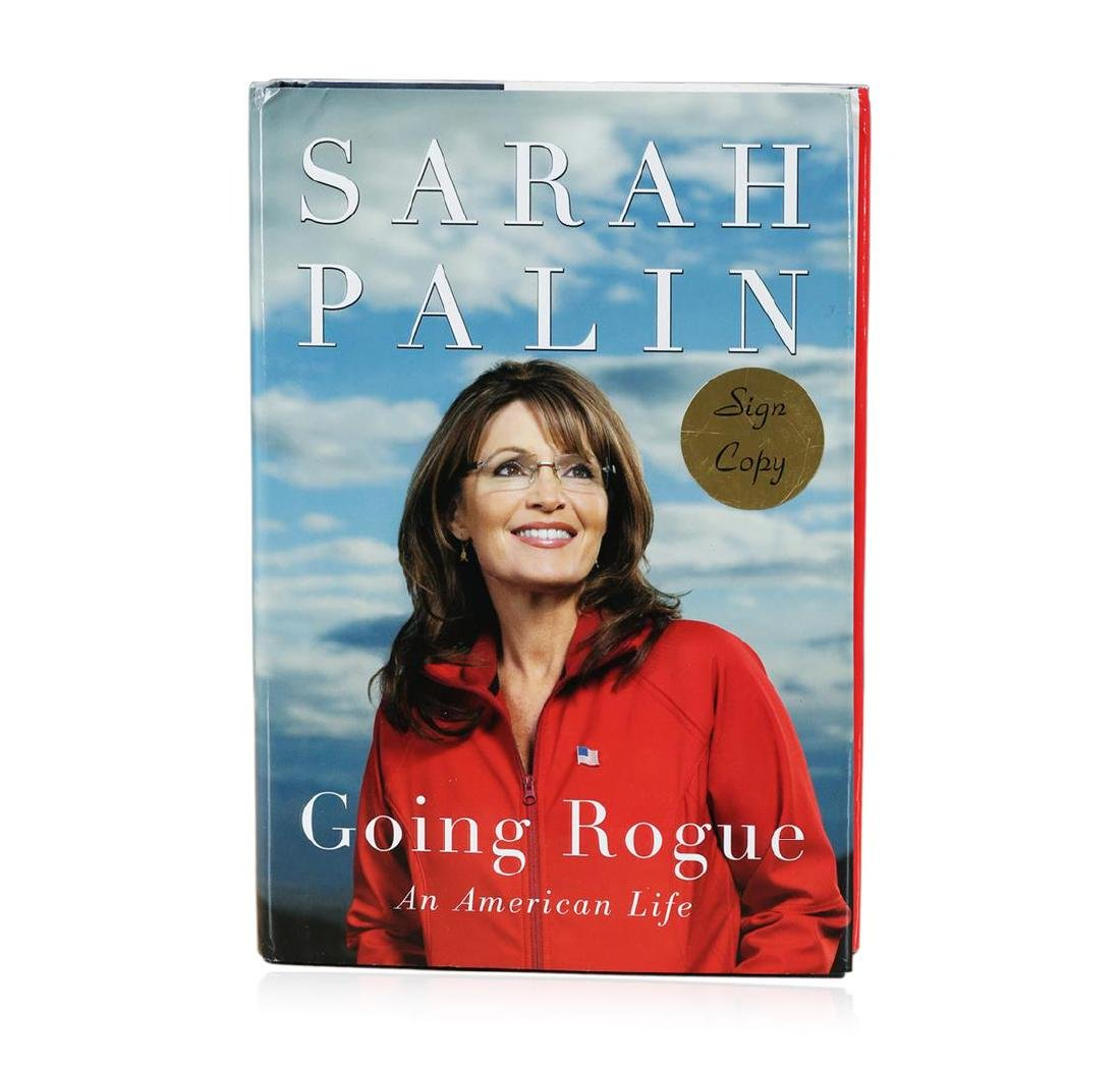 Signed Copy of Going Rogue: An American Life by Sarah