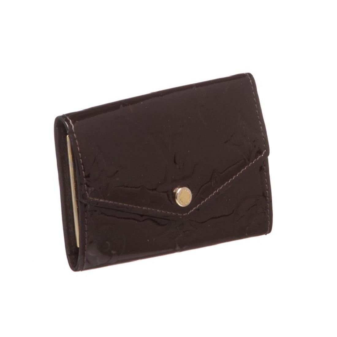 Louis Vuitton Vernis Amarante Six 6 Key Holder