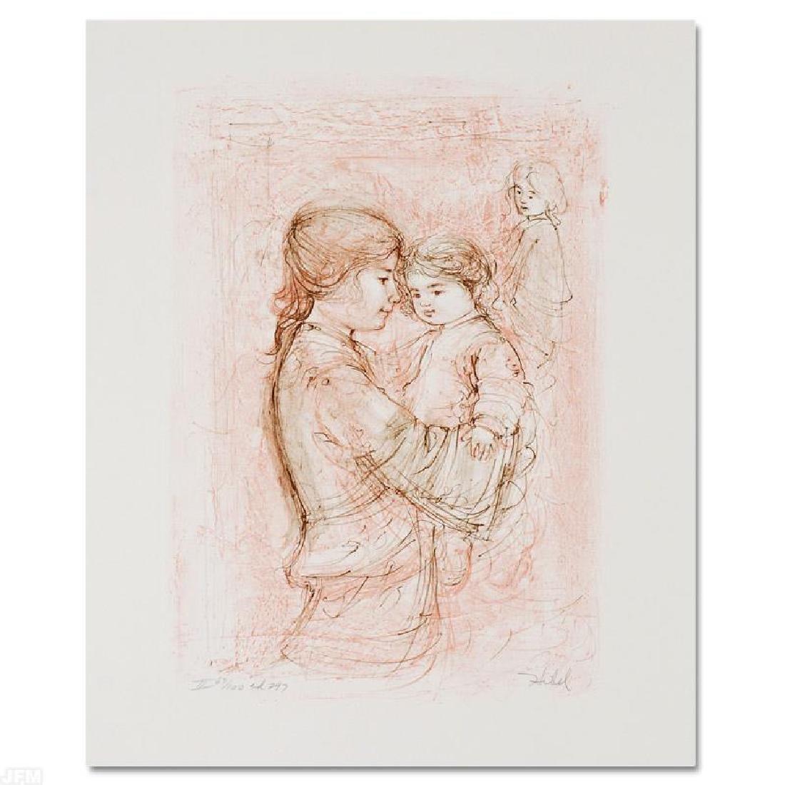 Nicole with Baby by Hibel (1917-2014)