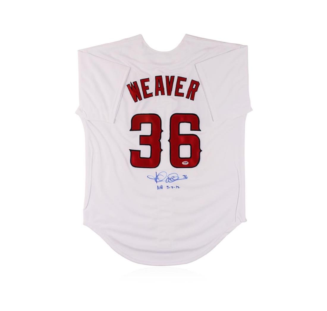 Los Angeles Angels of Anaheim Jered Weaver Autographed