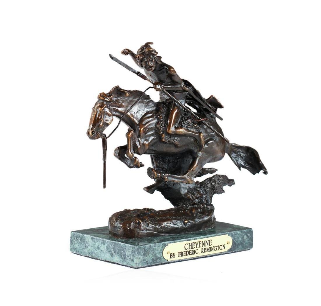 Cheyenne Bronze Replica By Frederic Remington - 2