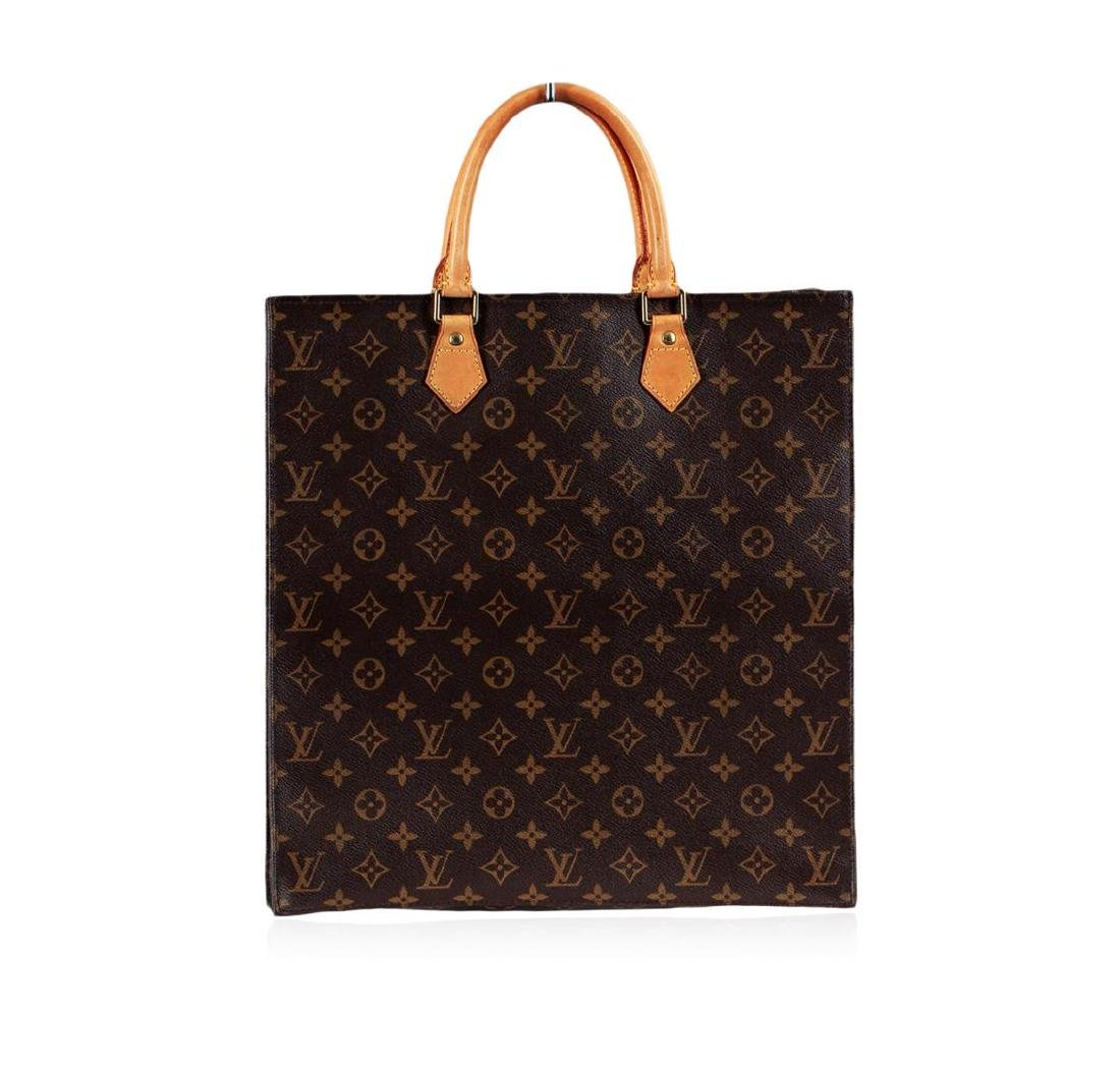 Louis Vuitton Sac Plat NM Monogram Canvas