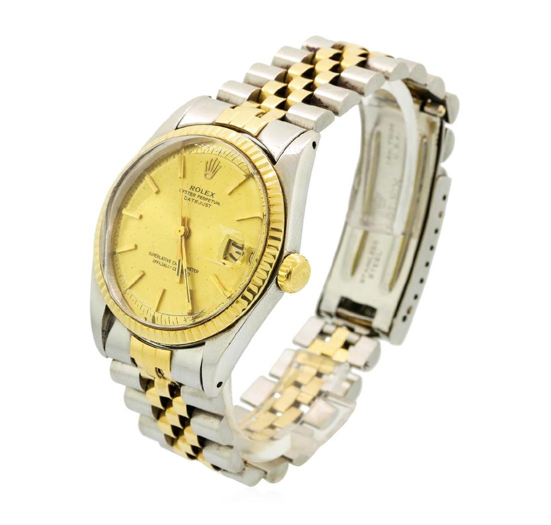 Vintage Rolex Two-Tone DateJust Wristwatch - 2