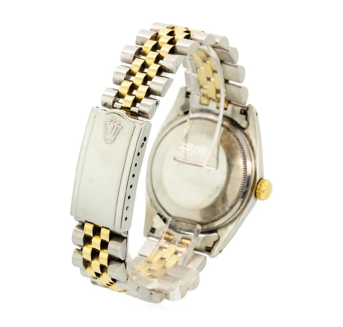 Vintage Rolex Two-Tone DateJust Wristwatch - 3