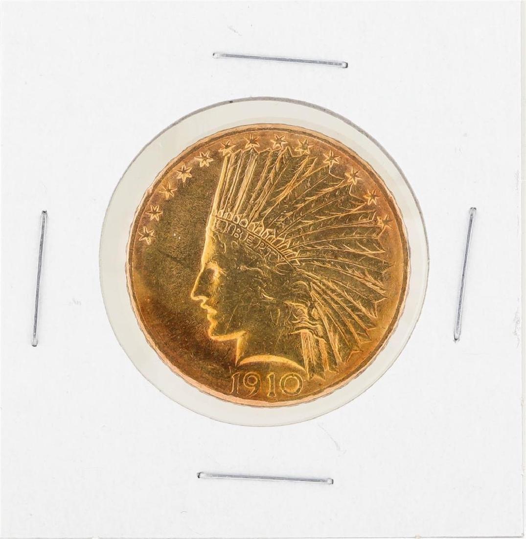1910D $10 Indian Head Gold Coin C