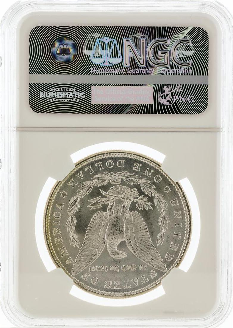 1885 NGC MS63 Morgan Silver Dollar - 2