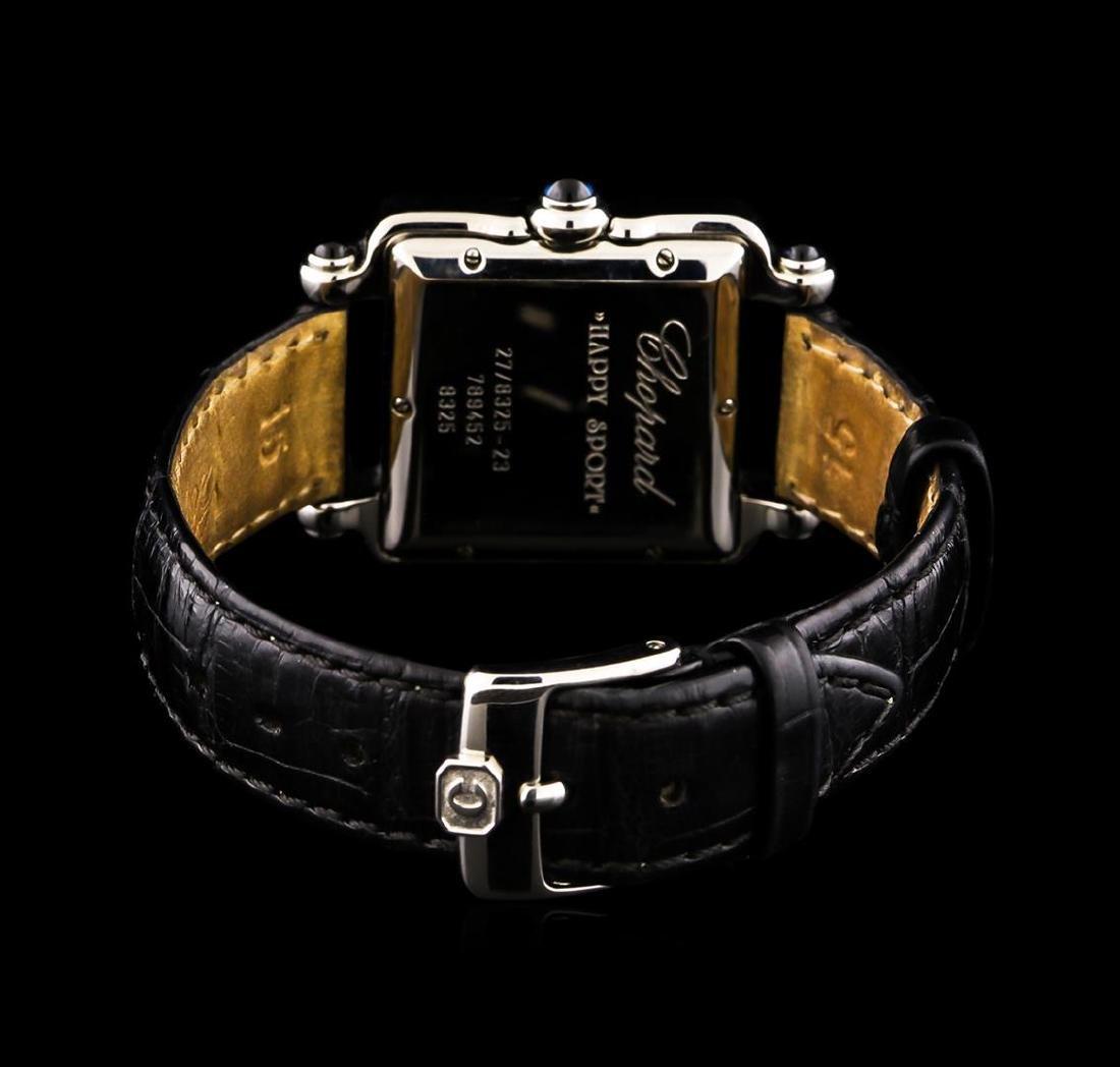 Chopard Stainless Steel Diamond Happy Sport Watch - 2
