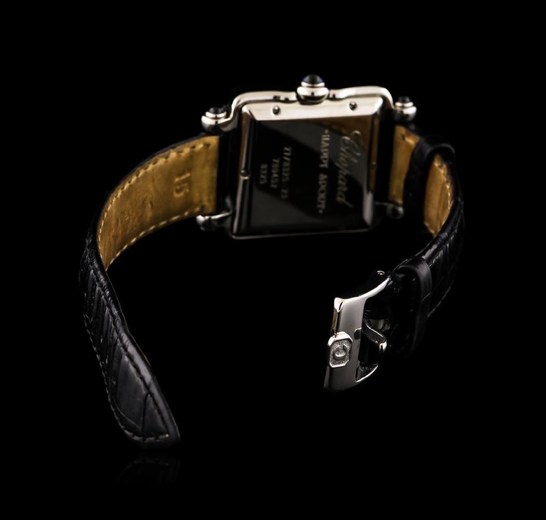 Chopard Stainless Steel Diamond Happy Sport Watch - 3