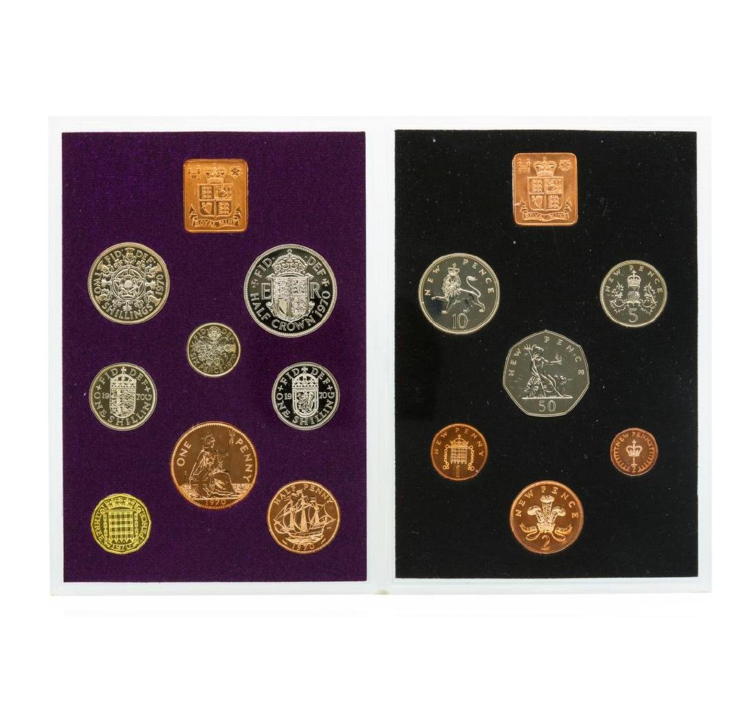 1970-1971 Coinage of Great Britain and Northern Ireland - 3