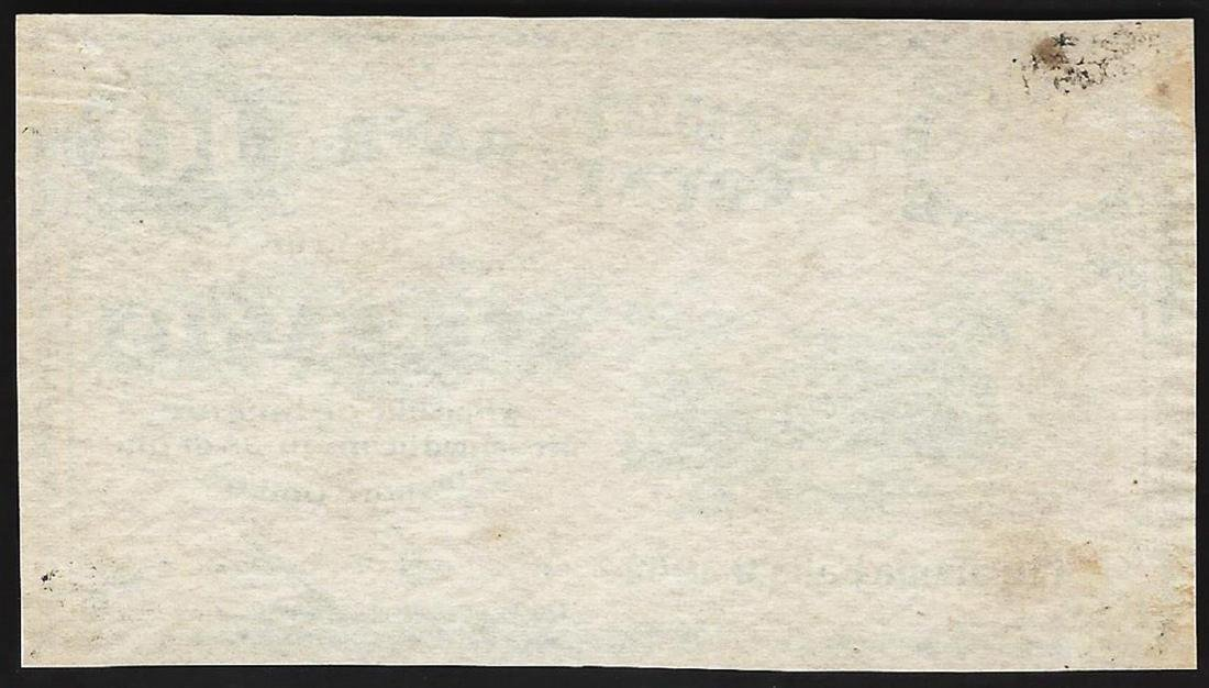 1862 Ten Cents Summit County Bank Obsolete Note - 2