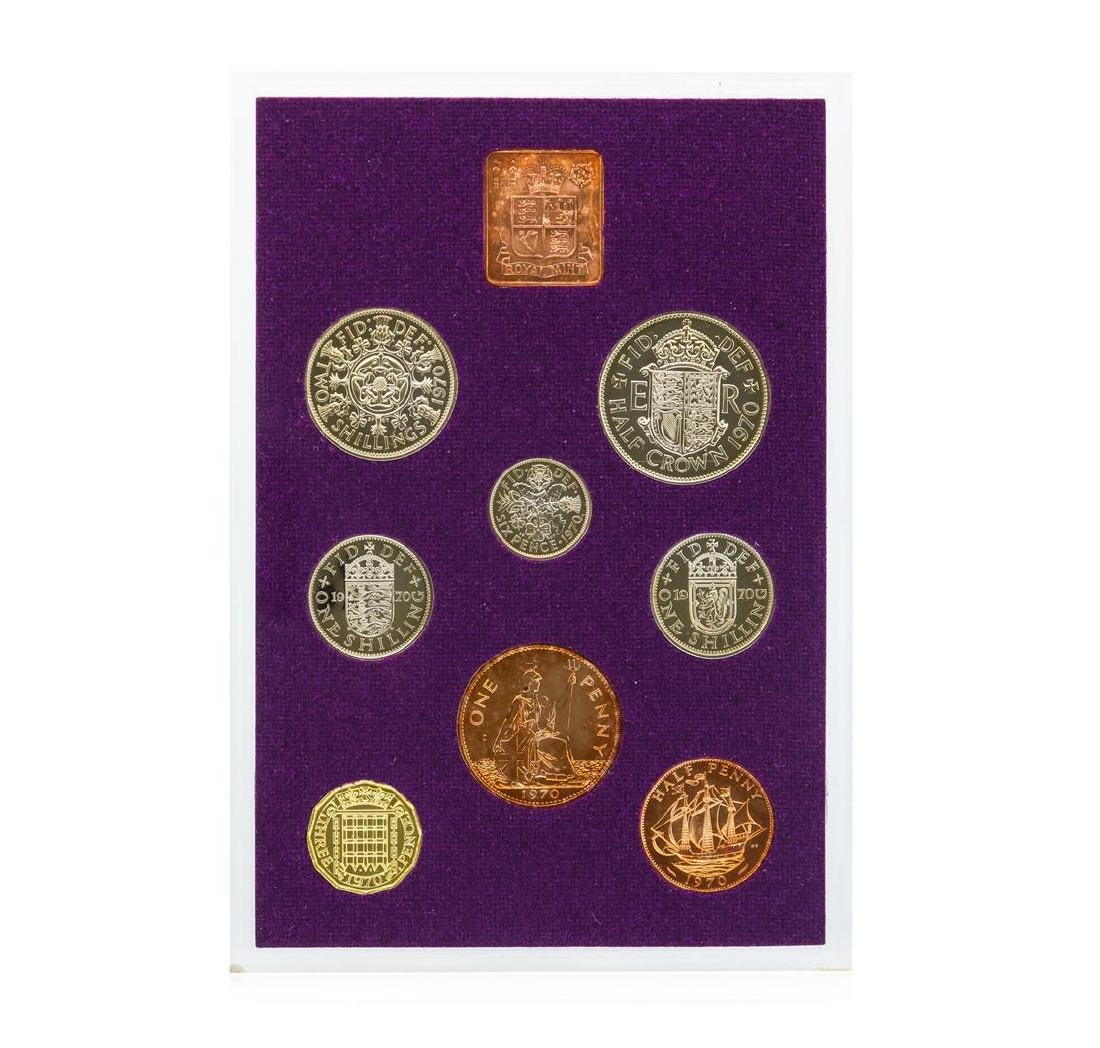 1970 Coinage of Great Britain and Northern Ireland - 3
