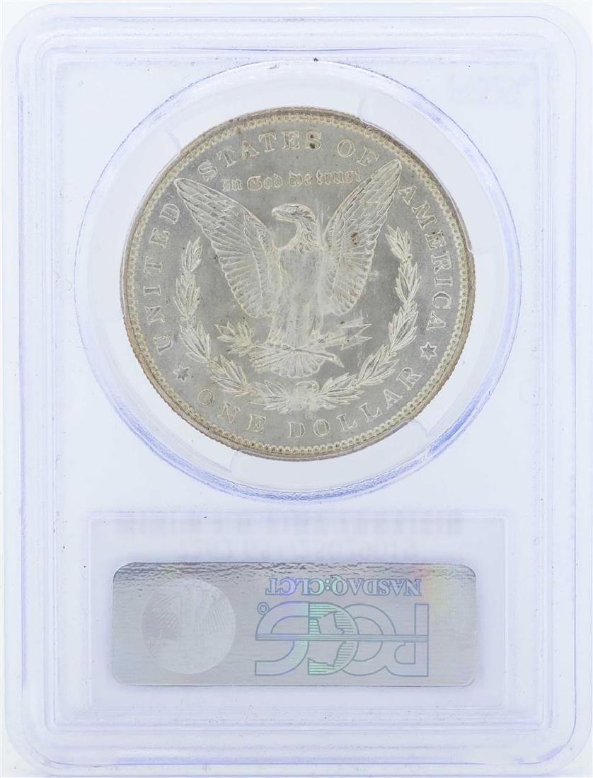 1899-S $1 Morgan Silver Dollar Coin PCGS MS65+ - 2