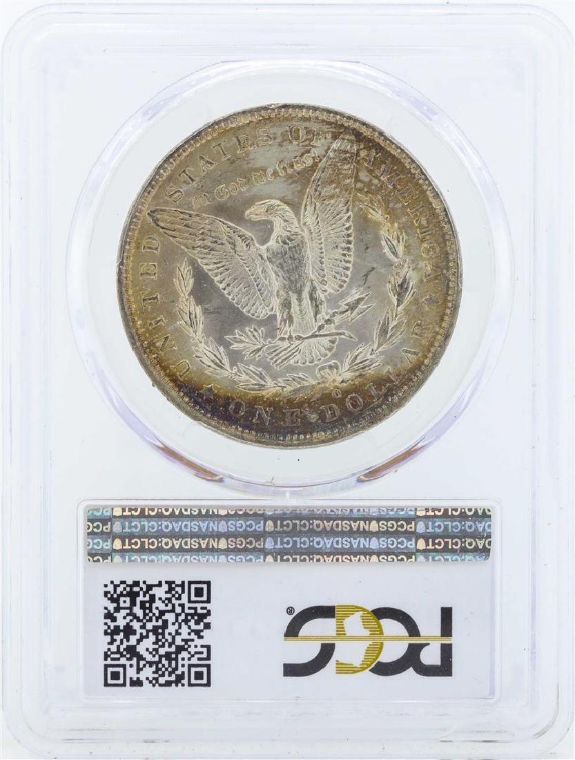 1890-O $1 Morgan Silver Dollar Coin PCGS MS65 - 2