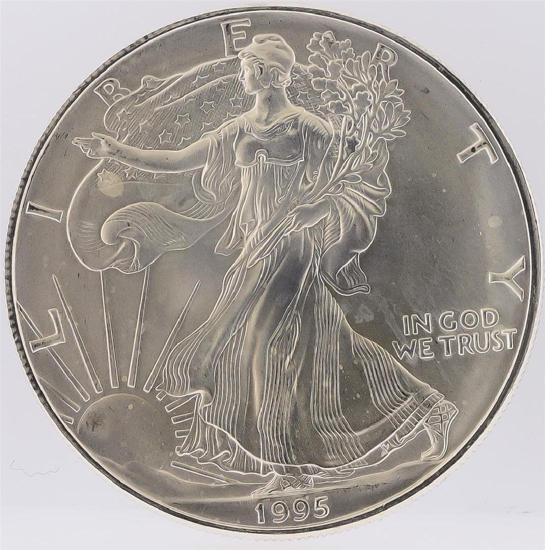 1995 American Silver Eagle Dollar Coin