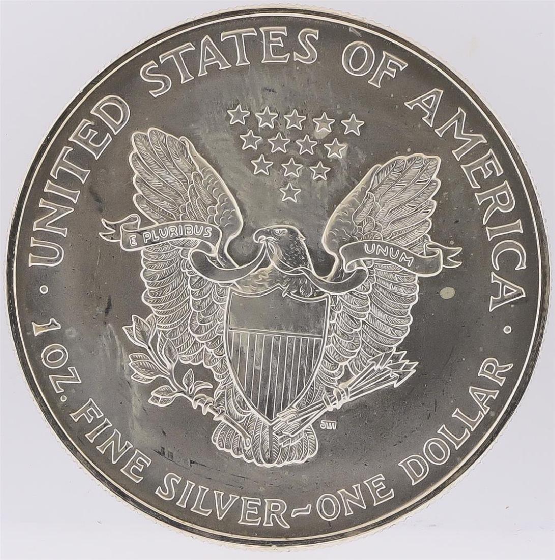1995 American Silver Eagle Dollar Coin - 2
