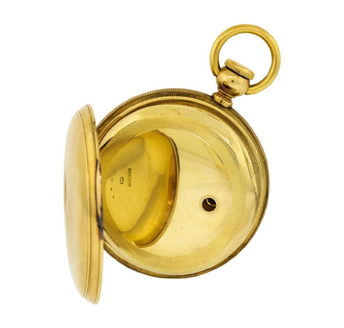 Vintage Elgin Pocket Watch - 14K Yellow Gold - 4