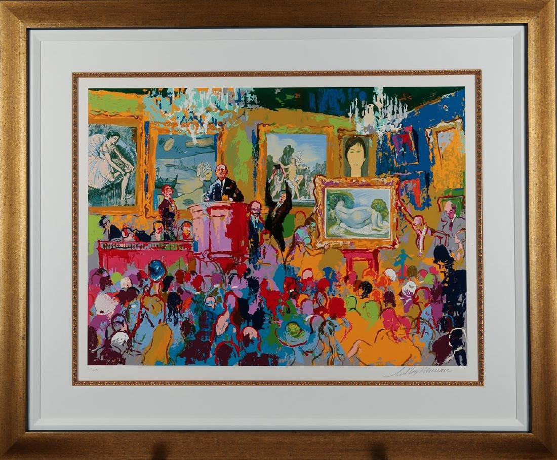 Leroy Neiman International Auction Limited Edition