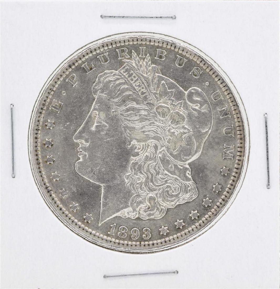1893-CC $1 Morgan Silver Dollar Coin