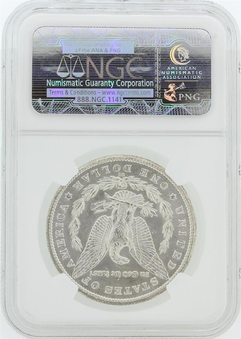 1885-CC NGC MS63 Morgan Silver Dollar - 2
