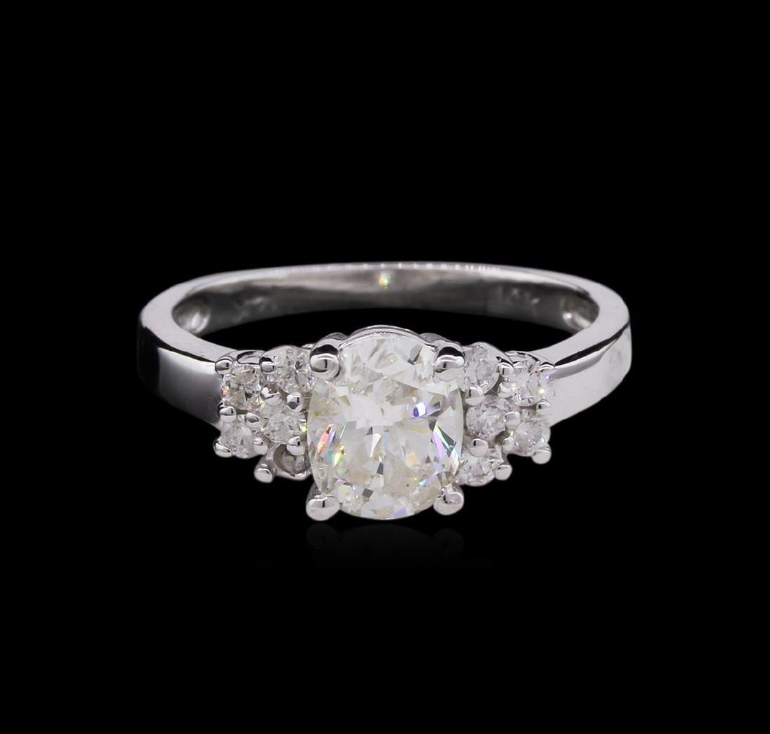 1.34 ctw Diamond Ring - 14KT White Gold - 2