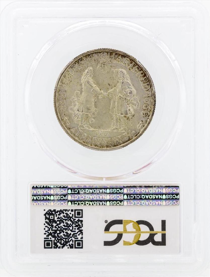 1936 Albany New York Commemorative Half Dollar Coin - 2