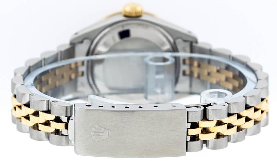 Rolex Ladies 2 Tone 14K Champagne String Diamond - 7