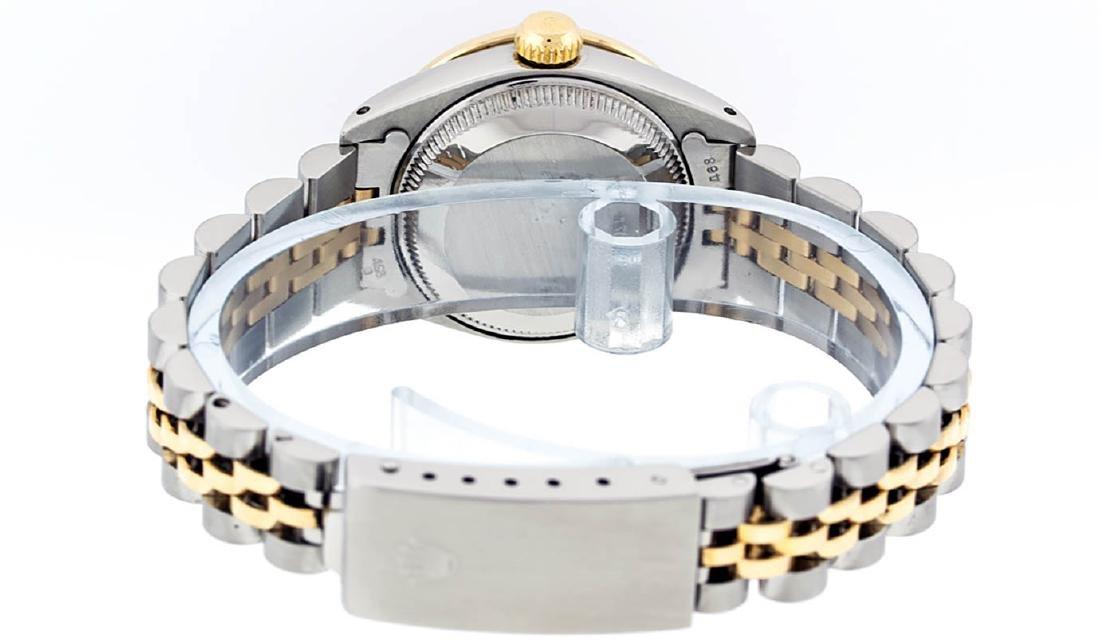 Rolex Ladies 2 Tone 14K Champagne String Diamond - 8