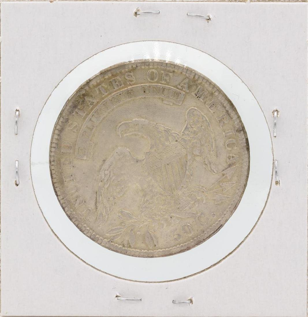 1834 Capped Bust Half Dollar Silver Coin - 2