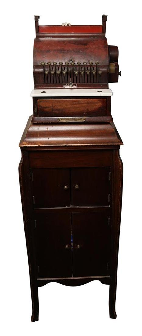 The National Cash Register Co. Wooden Cash Register - 2