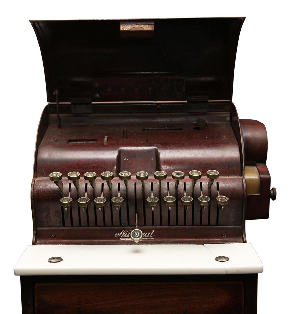 The National Cash Register Co. Wooden Cash Register - 3