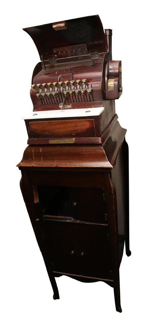 The National Cash Register Co. Wooden Cash Register - 5