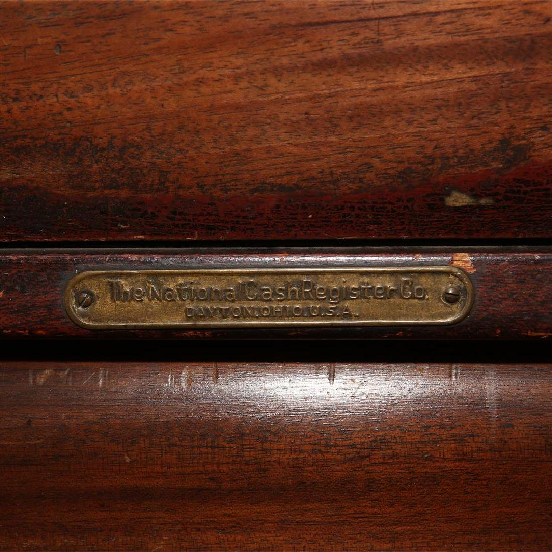 The National Cash Register Co. Wooden Cash Register - 6