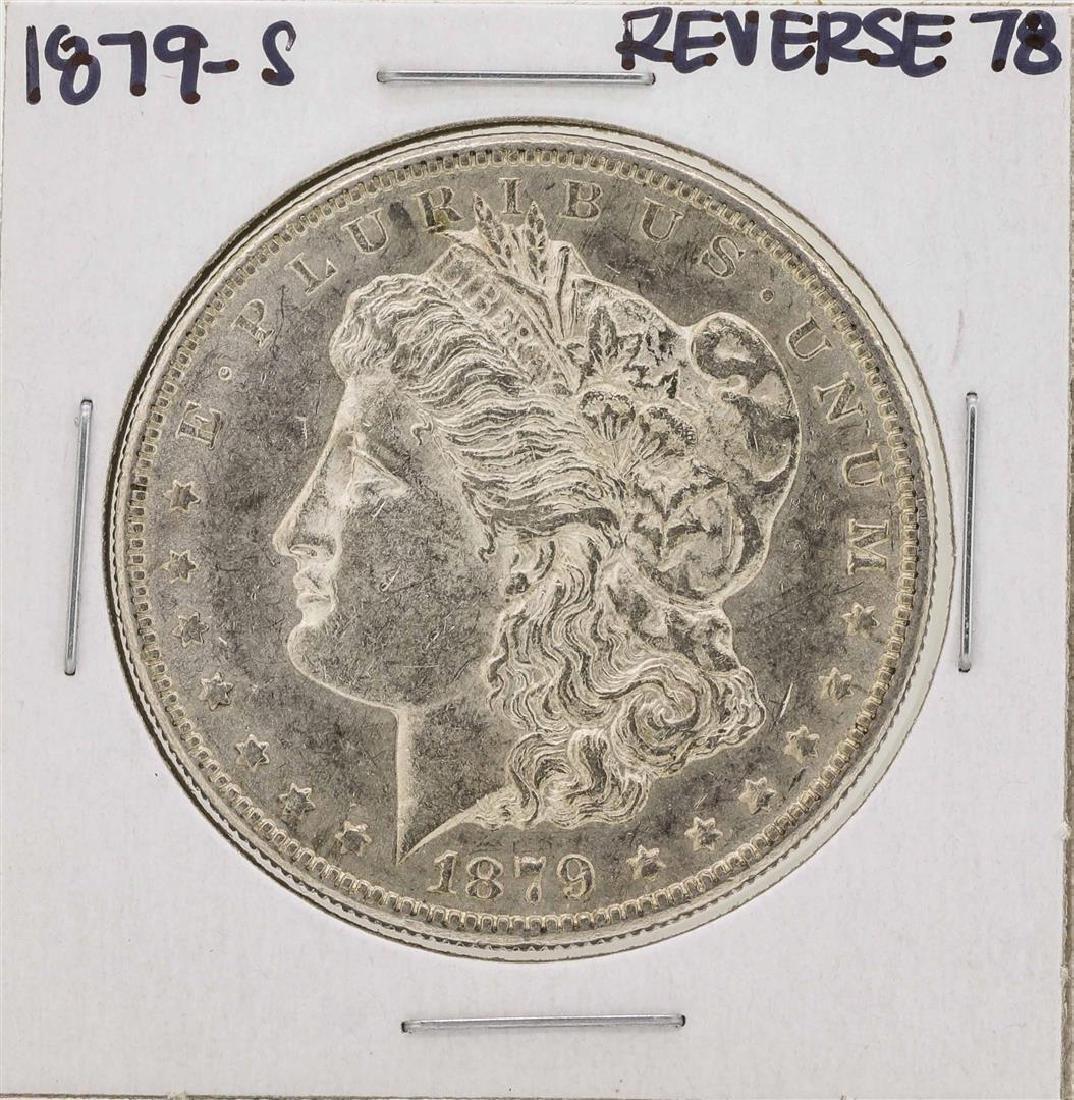 1879-S Reverse 78 $1 Morgan Silver Dollar Coin