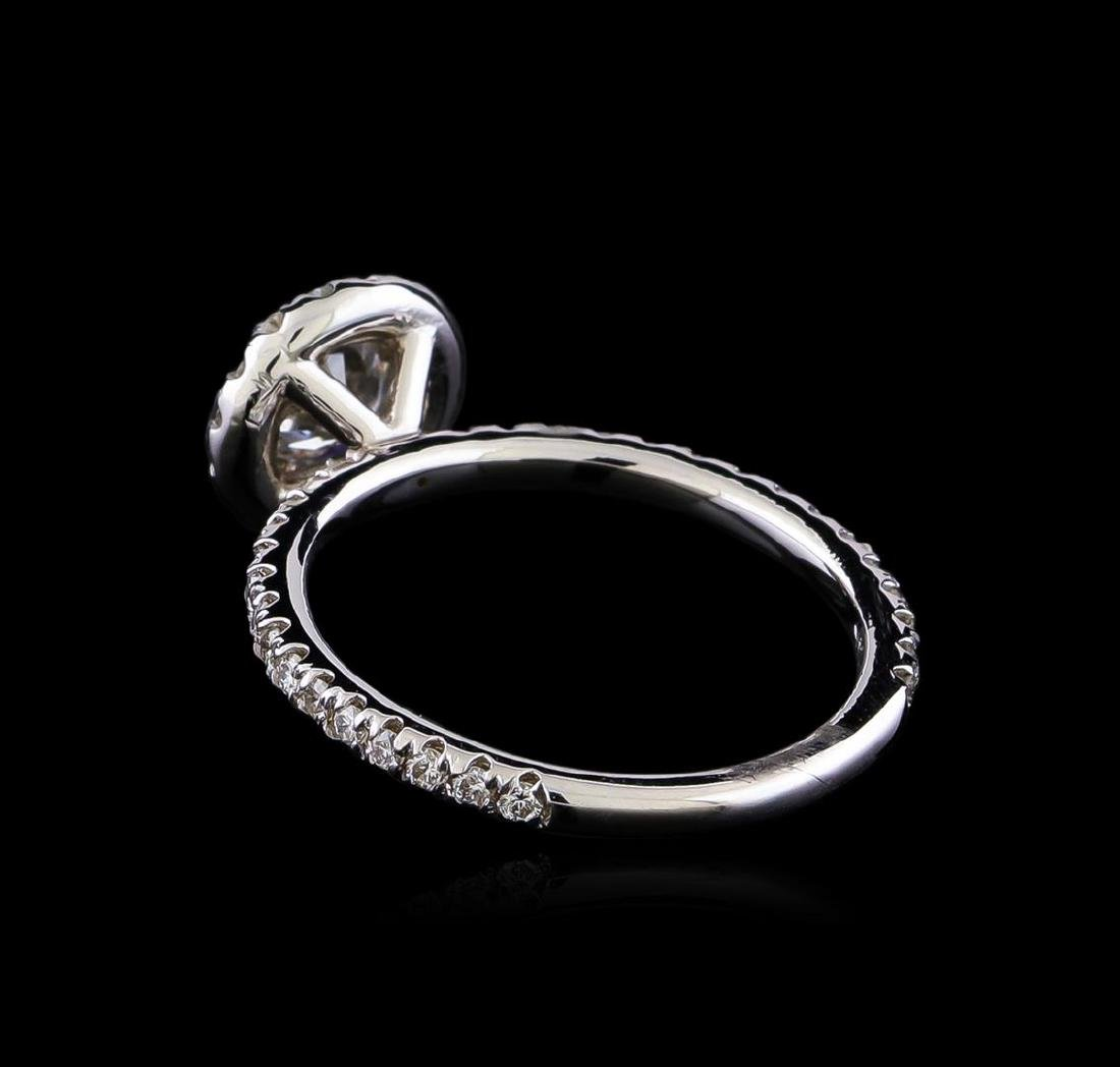 1.08 ctw Diamond Ring - 14KT White Gold - 3