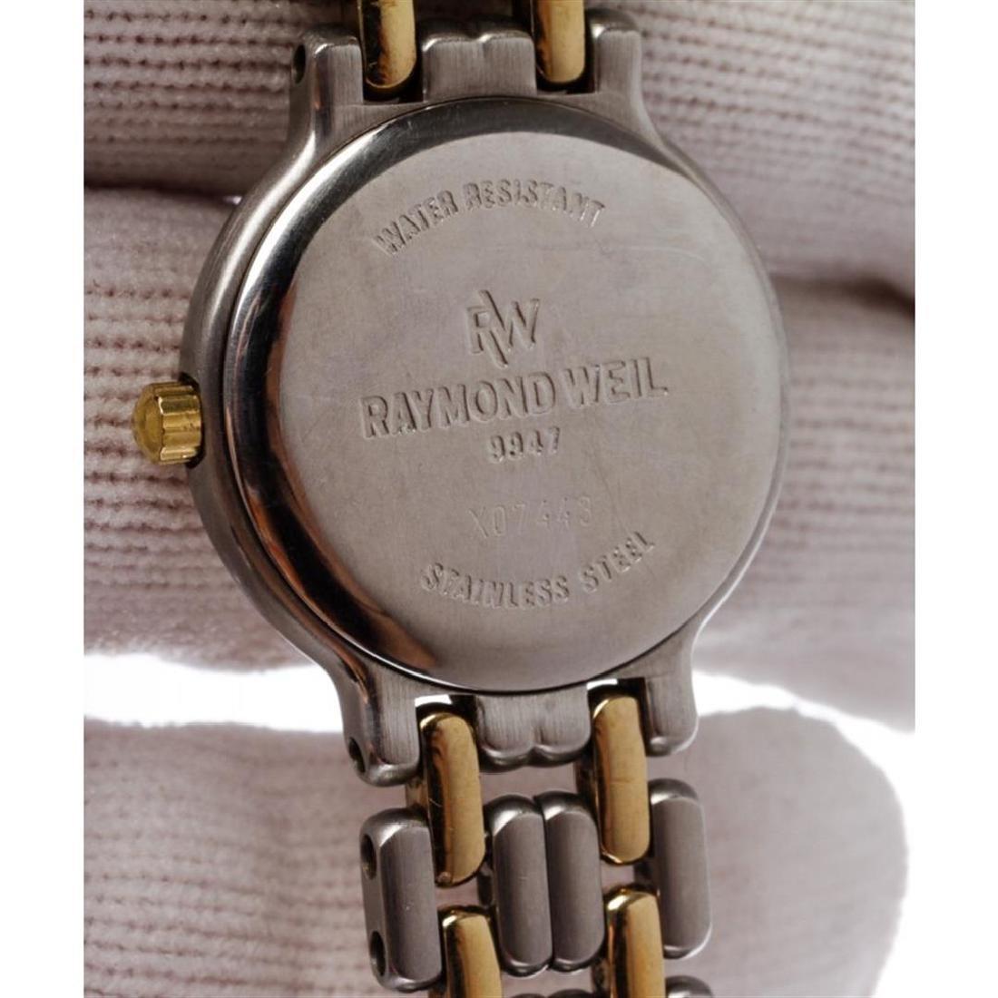 Raymond Weil Geneve Quartz Stainless Steel Wristwatch - 6