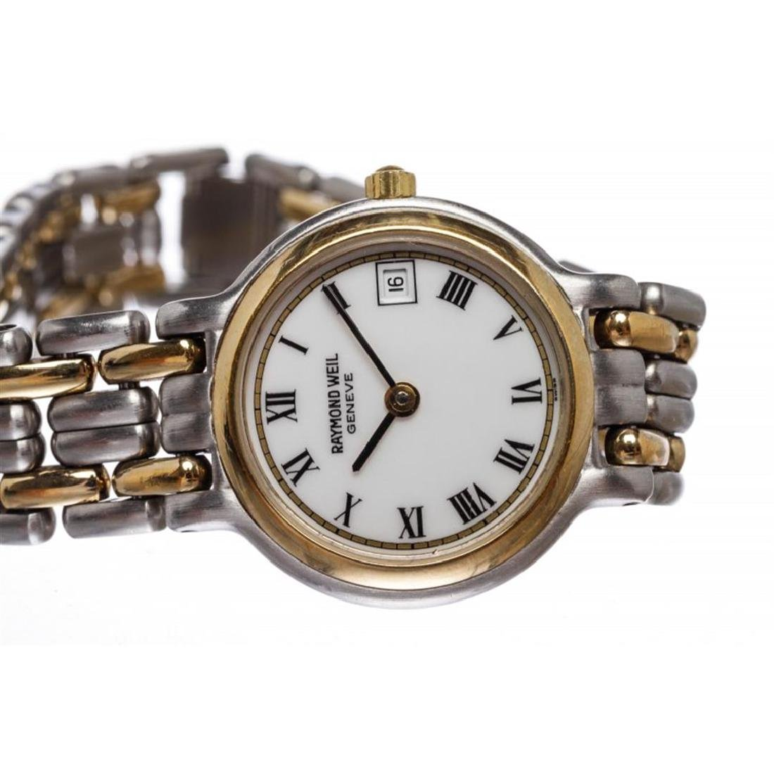 Raymond Weil Geneve Quartz Stainless Steel Wristwatch - 7